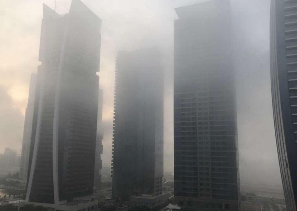 Fog, Weather, uae, weather