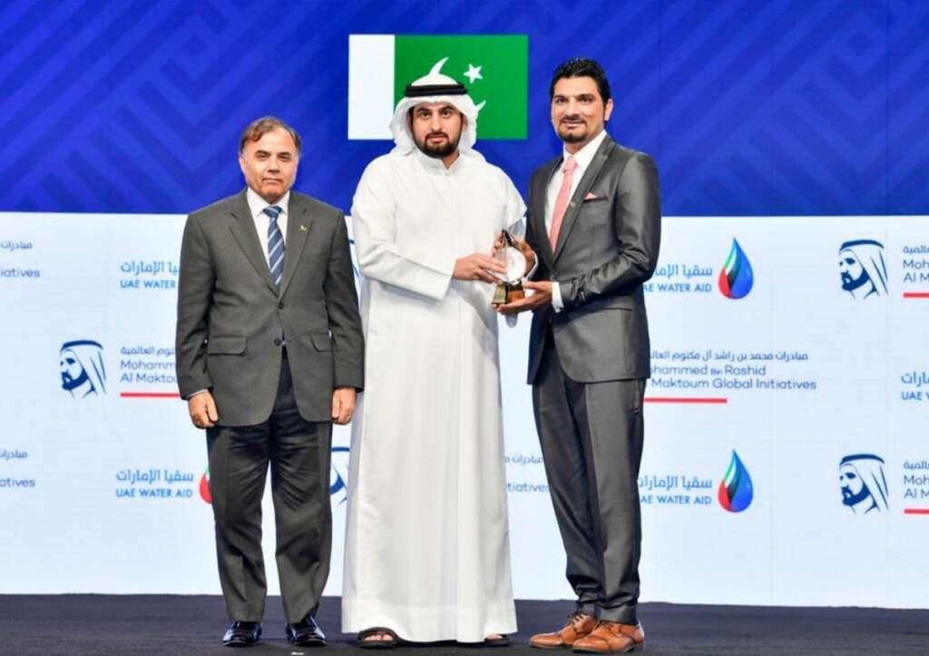 Pakistani national, Pakistan, global water crisis, UAE, Mohammed Bin Rashid Al Maktoum Global Water Award, UAE, Dubai