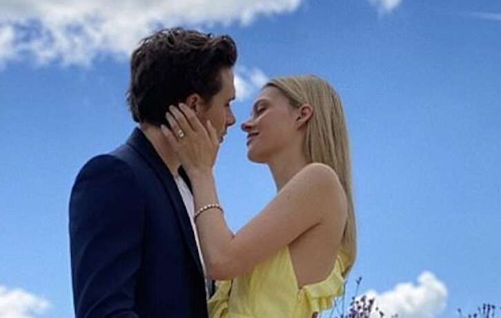 Brooklyn Beckham, Nicola Peltz, engaged, engagement, marriage, Instagram