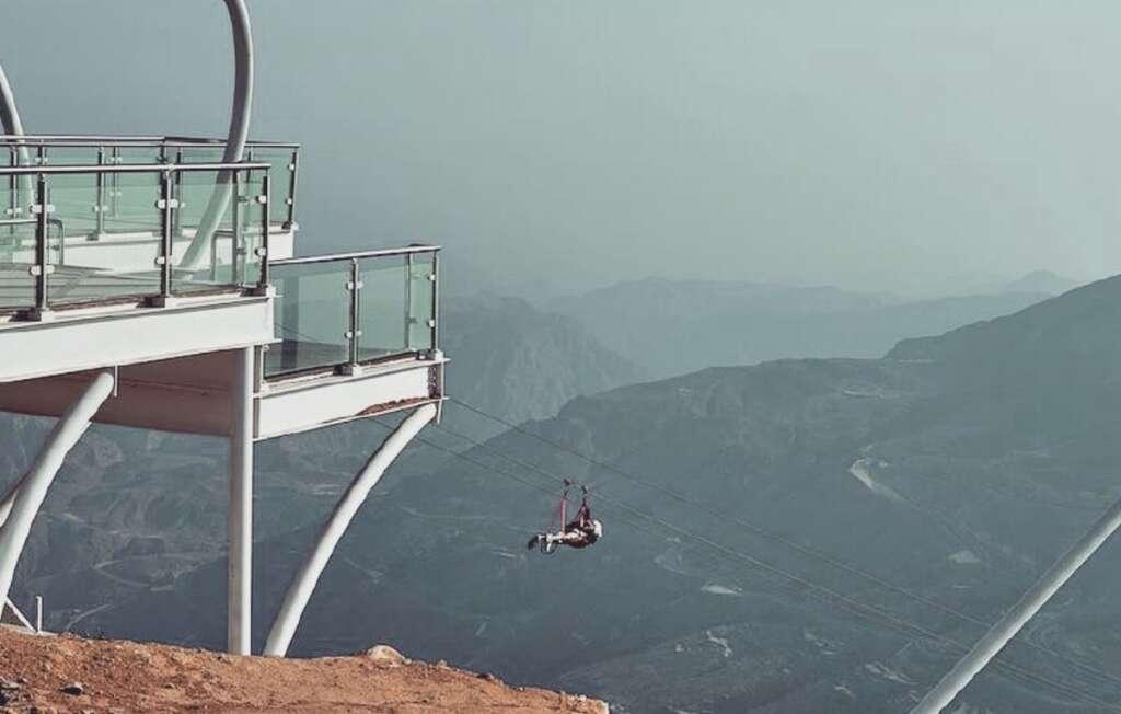 Worlds longest zipline in UAE announces reopening date