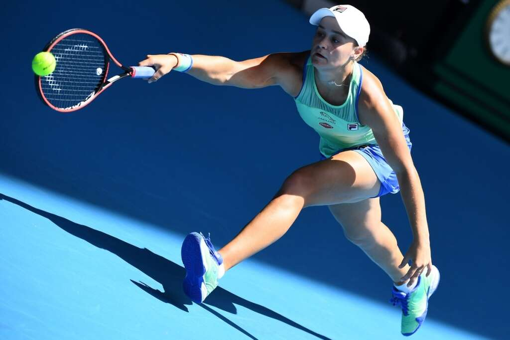 Barty is wishing for quiet life amid frenzy