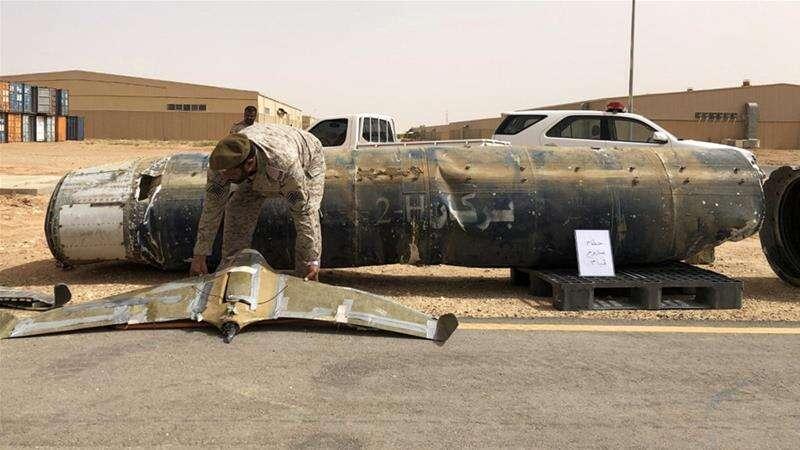 saudi, coalition, houthis, yemen, drone, destroyed, najran