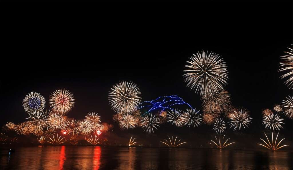 Video New Year Fireworks Announced In Uae News Khaleej Times