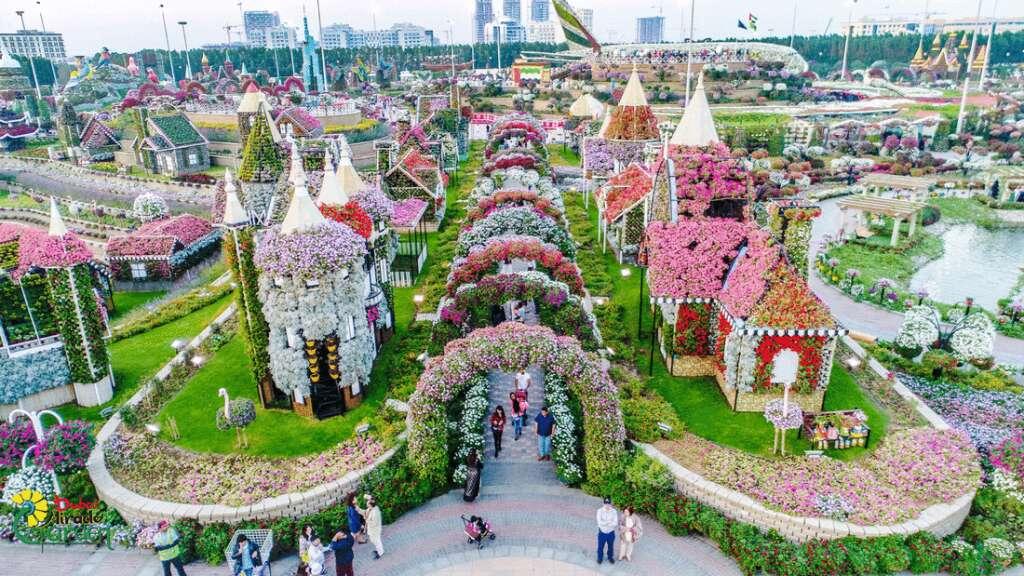 Dubai Miracle Garden, flowers, dubai tourism, UAE tourism, Guinness World Record, botanical garden