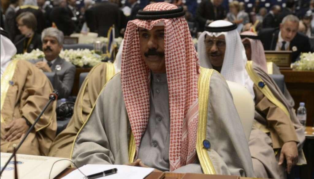 Sheikh Nawaf, Emir of Kuwait, late Sheikh Sabah, Kuwait,