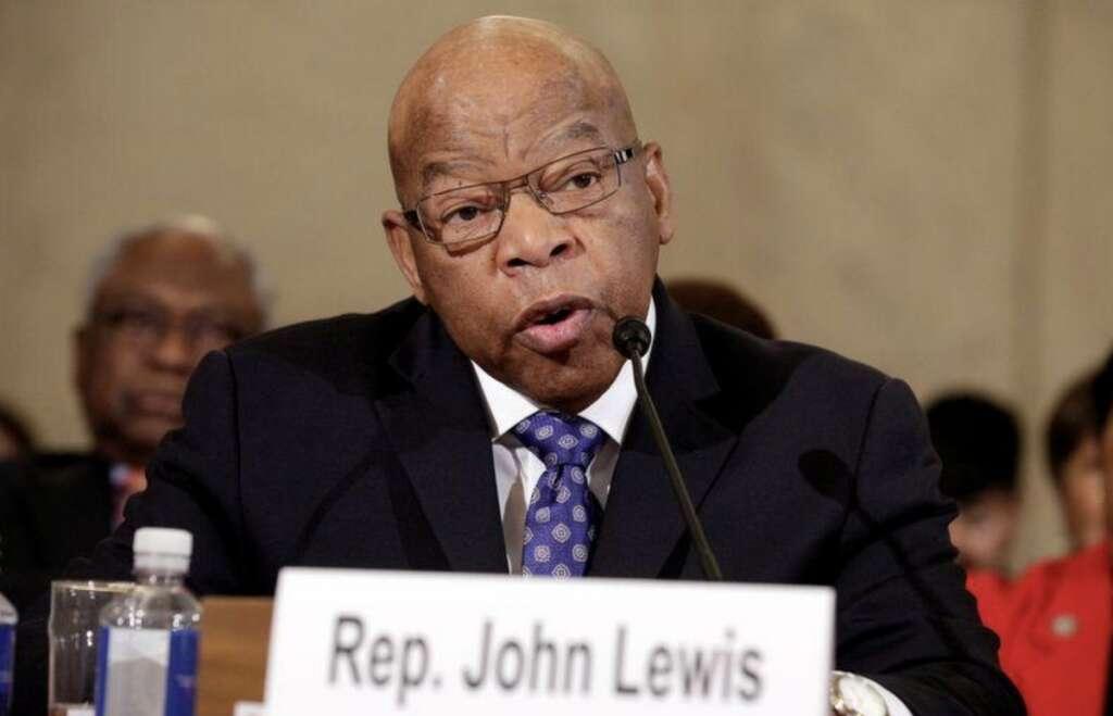 John Lewis, US civil rights icon, congressman