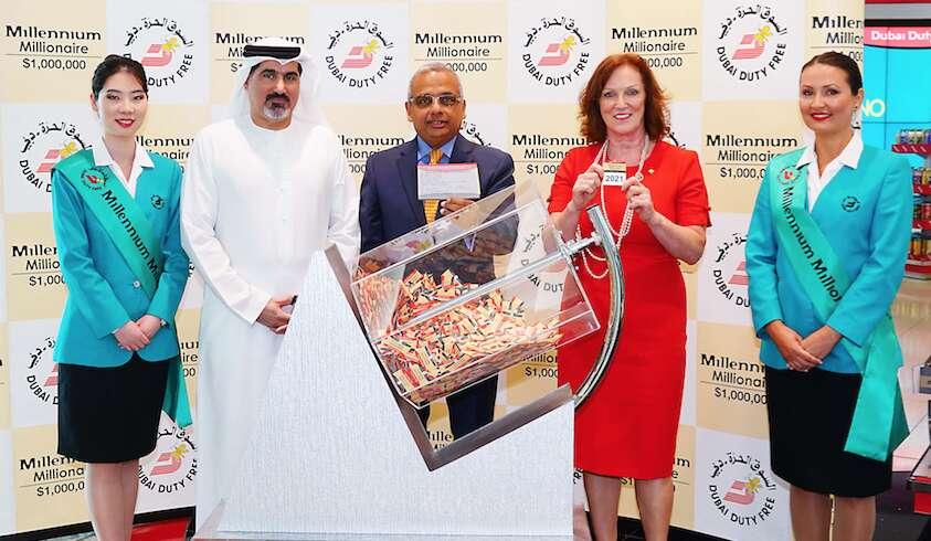 $1m raffle winner in Dubai to split cash with 39 others