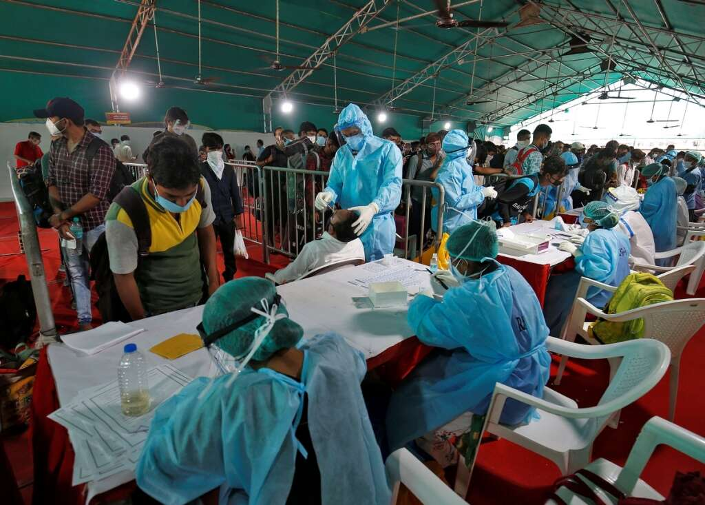 India, 4.3 million, coronavirus, covid-19, infections, cases