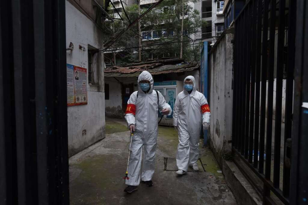 Wuhan, China, Covid-19 cases