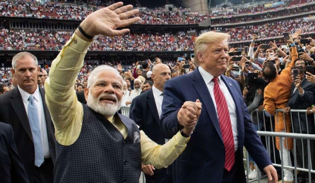 New Delhi, Gujarat, Trump, India, US, India visit
