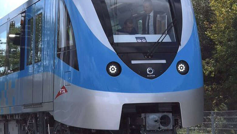Photos: Dubai Metro to get first of new trains this year