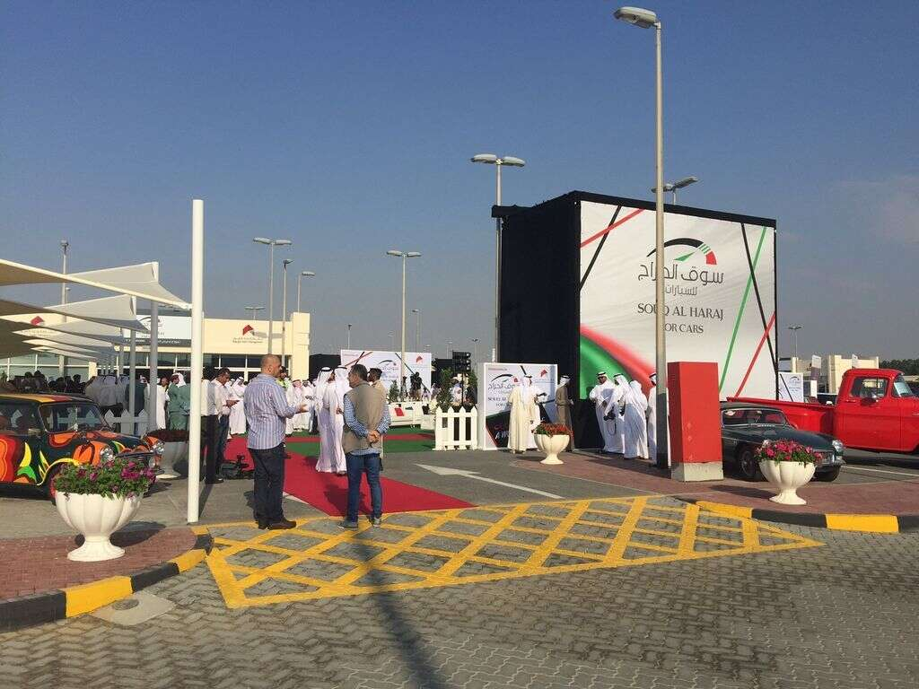 Sharjah's new used cars market opens - News | Khaleej Times
