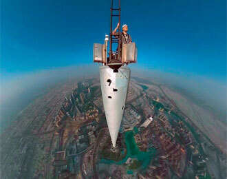 Burj Khalifa, the site for worlds highest selfie