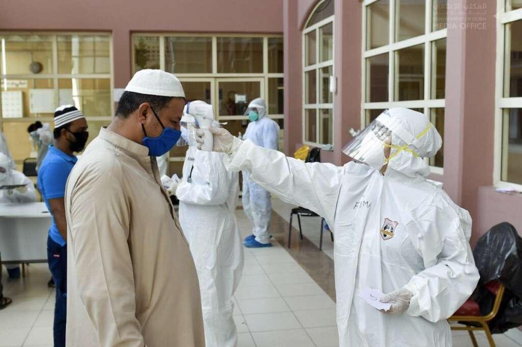 Combating coronavirus, covid19, Dubai,  intensive measures, labour accommodations, Covid-19 outbreak,