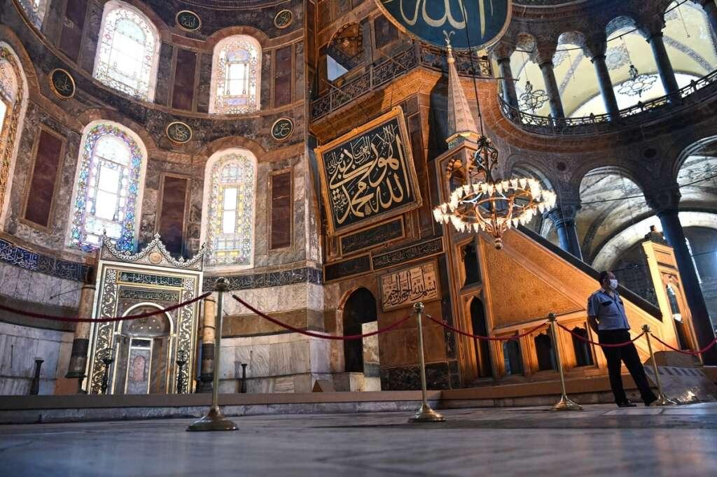 Erdogan, Hagia Sophia