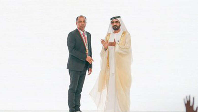 UAE honours Indian expat with Pioneers Award; built a mosque for workers