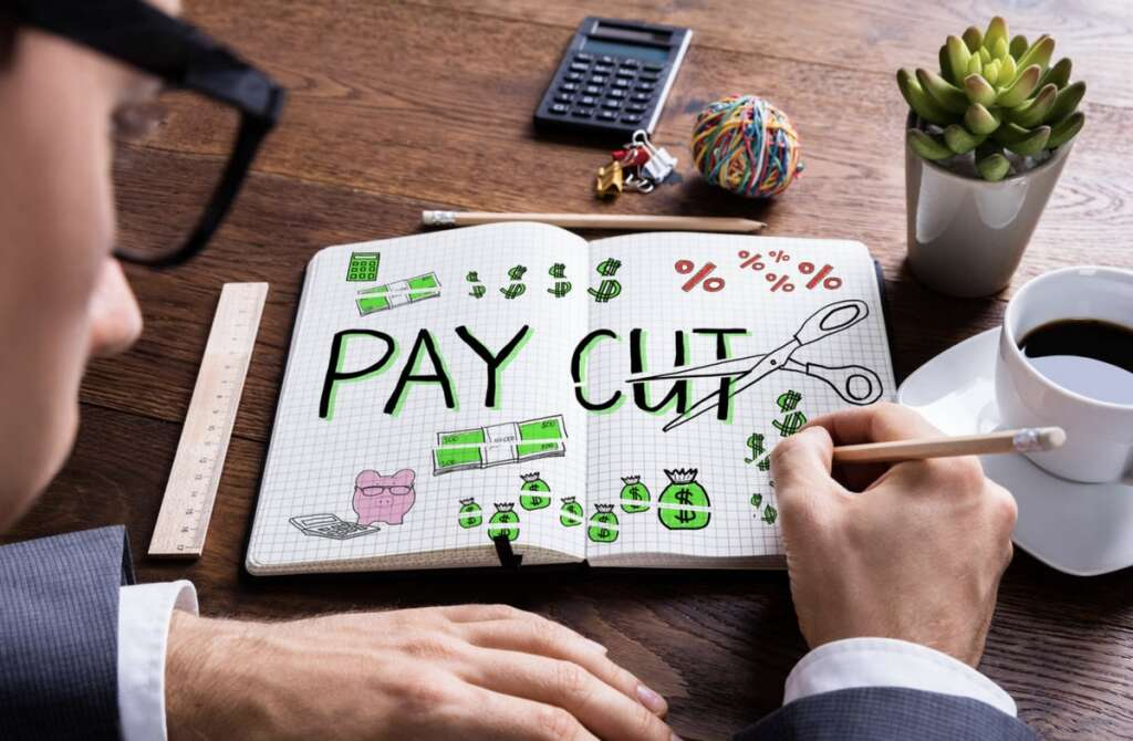 Firm, UAE, salary cut, salary deduction, leave salary,