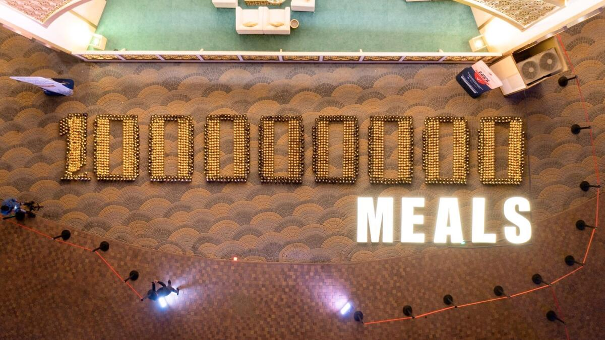 100 Million Meals: Dubai's Global Village breaks 23rd world record