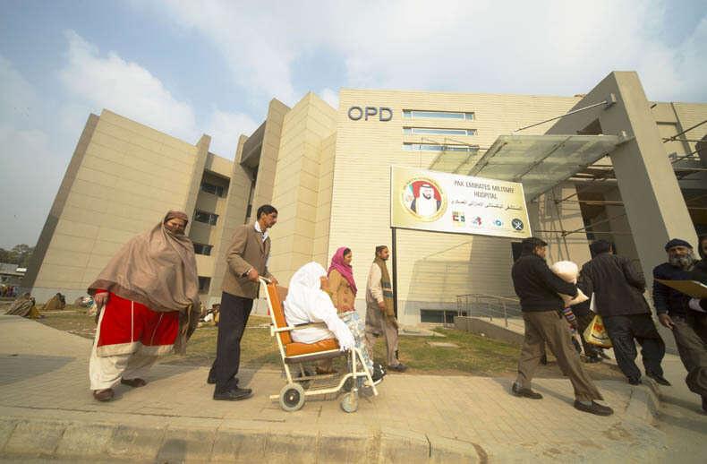 Hospital funded by UAE opens in Rawalpindi - Khaleej Times