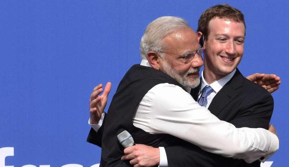 facebook, narendra modi, mark zuckerberg, RSS, BJP