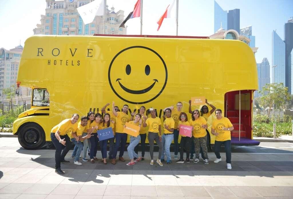 Happiness bus roved around Dubai spreading cheer