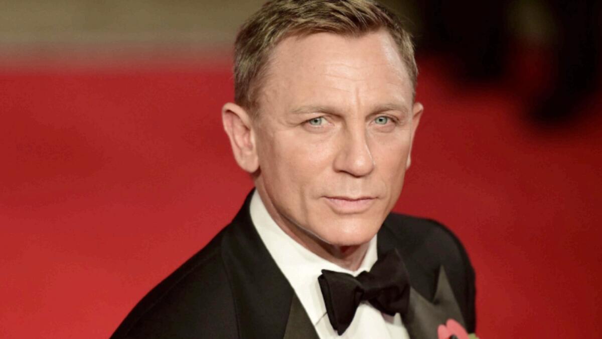 Daniel Craig. — AFP file