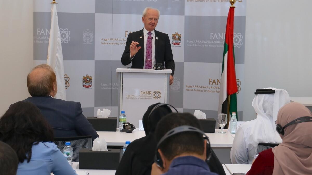 """Christer Viktorsson, director-general of the FANR, told reporters that the regulator is currently waiting for the """"readiness declaration"""".-Supplied photo"""