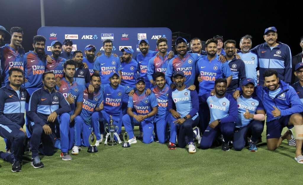 इंडिया 5-0 सीरीज जीत