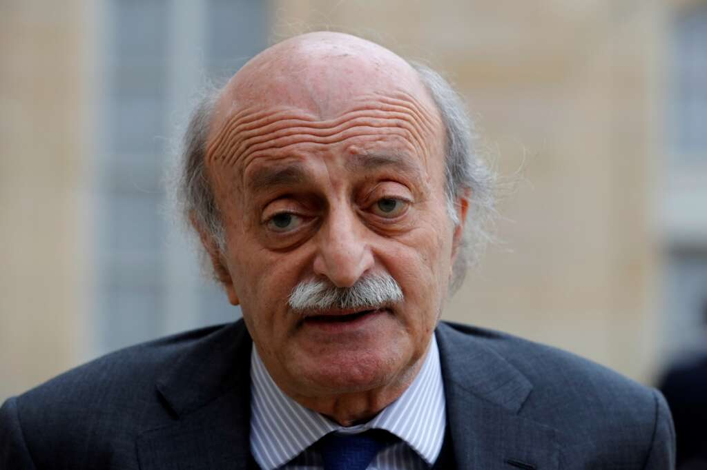 Beirut, Lebanon, France, Jumblatt , war