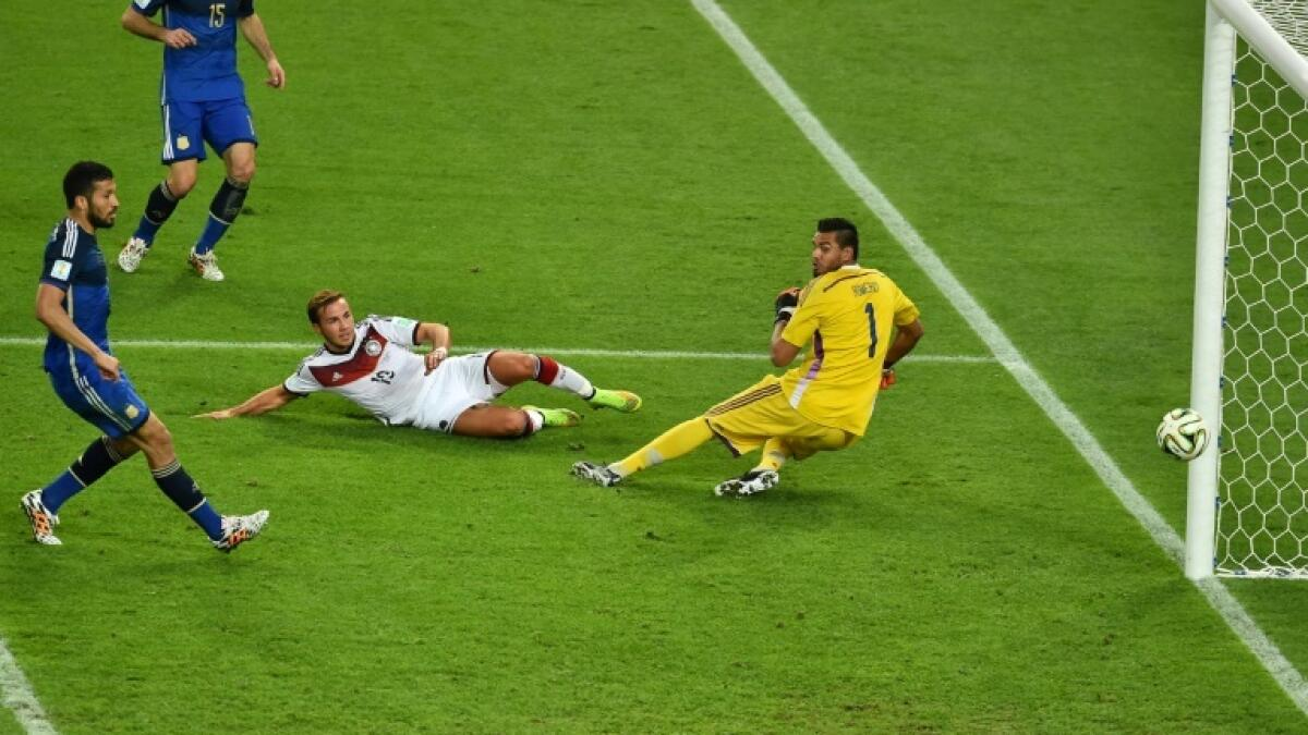Mario Goetze scored the winning goal in the 2014 World Cup final for Germany against Argentina. - AFP file