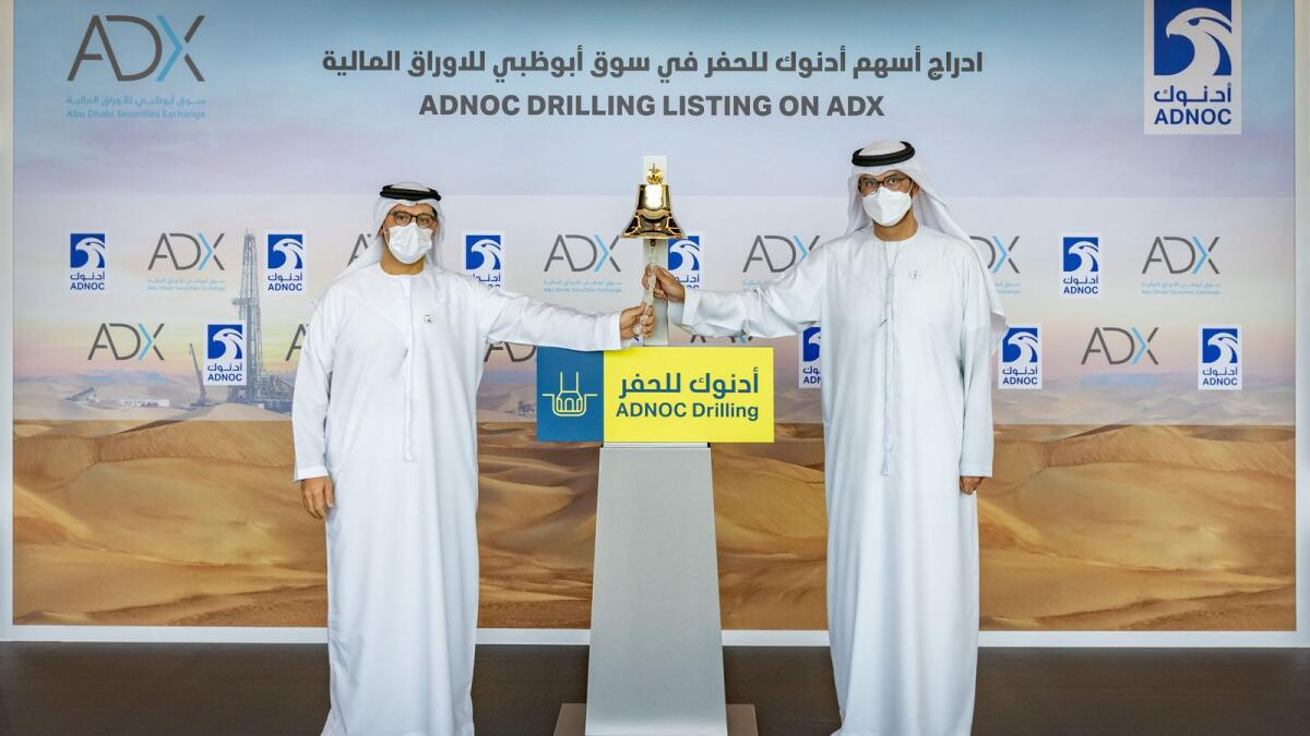 The newly-listed unit of Abu Dhabi oil giant Adnoc surged 30 per cent to D3.05 in early trading but later closed at Dh2.95 per share with 242.33 million shares traded on the exchange on debut. — Supplied photo