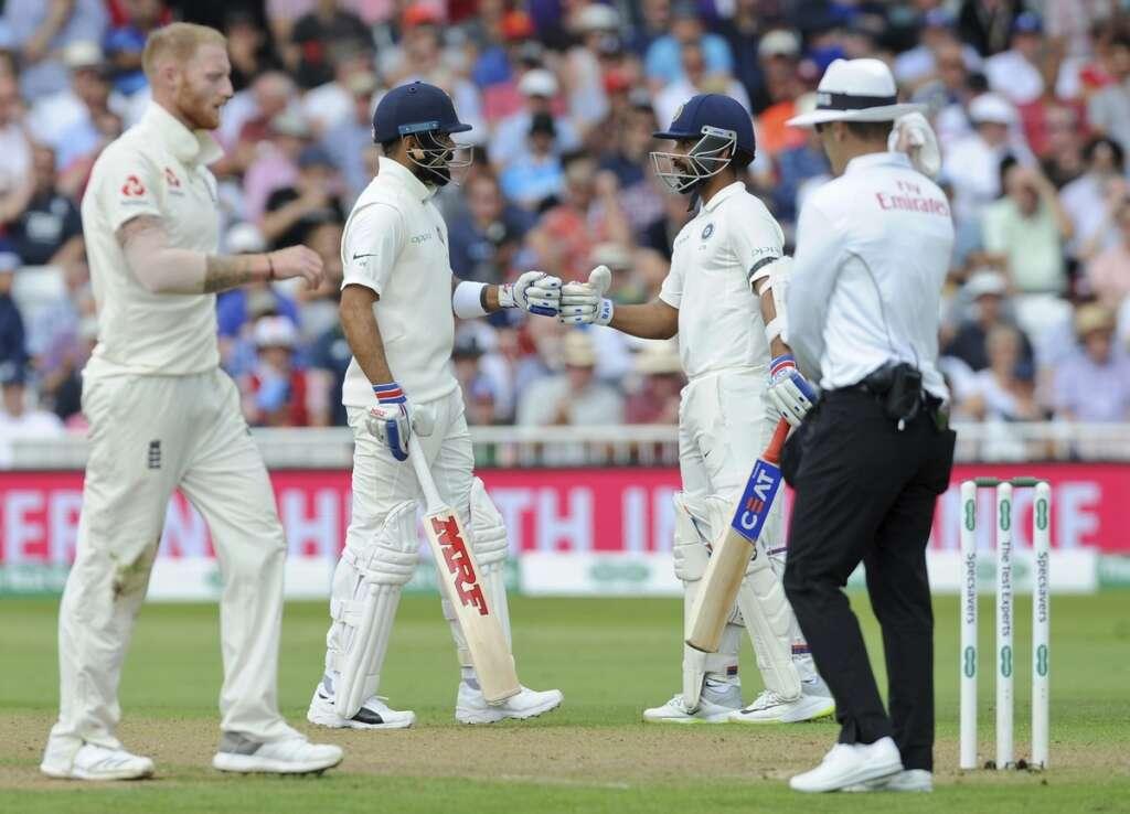 Kohli and Rahane help India to 307-6 against England
