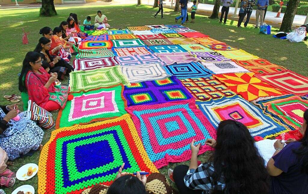 WATCH: UAE residents part of Indian crochet Guinness record