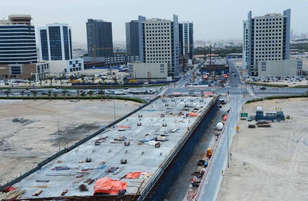 Road work to end Dubais SZR traffic snarl in full swing