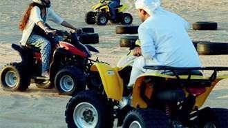 Emirati teenager fractures skull after quad bike flips over