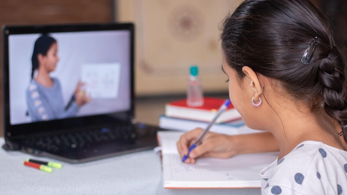 distance learning, online classes, remote class, uae schools