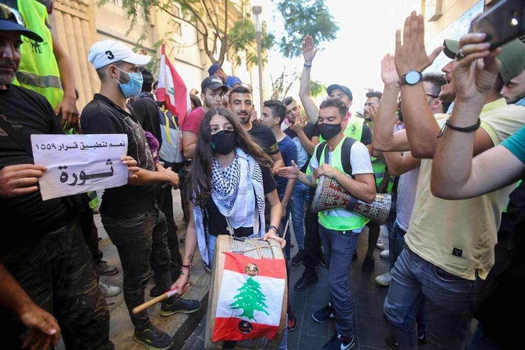 Beirut, Lebanon, Aoun