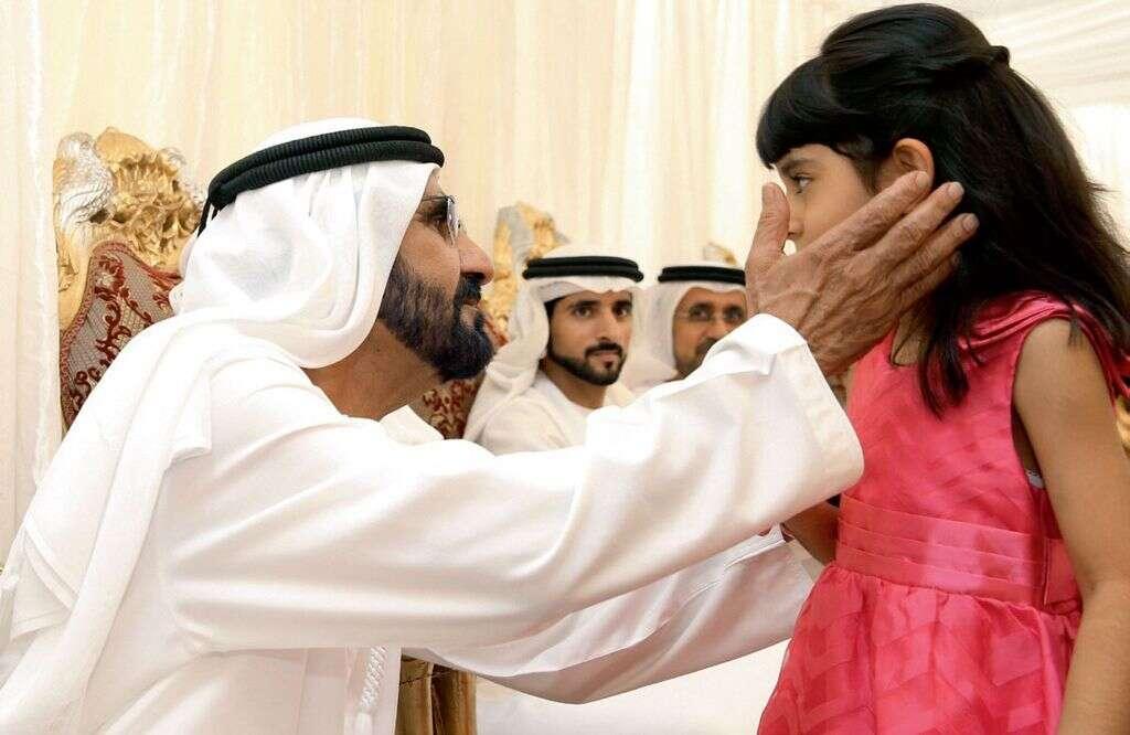 Shaikh Mohammed visits mourning majlis in RAK