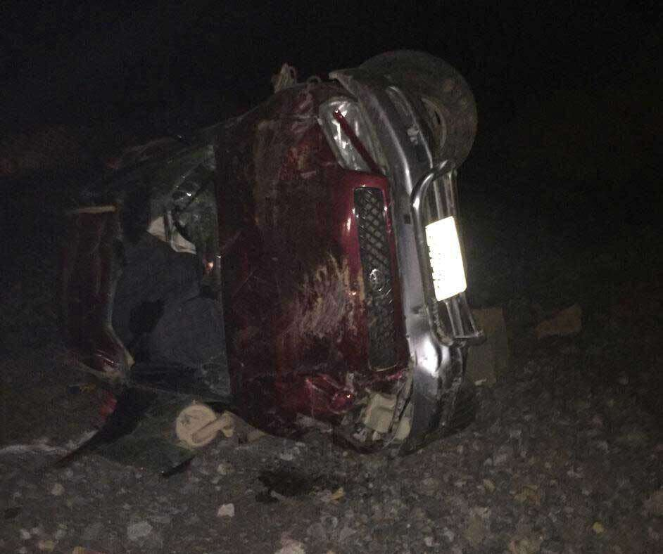 Lucky escape for four teens after SUV falls off UAE mountain