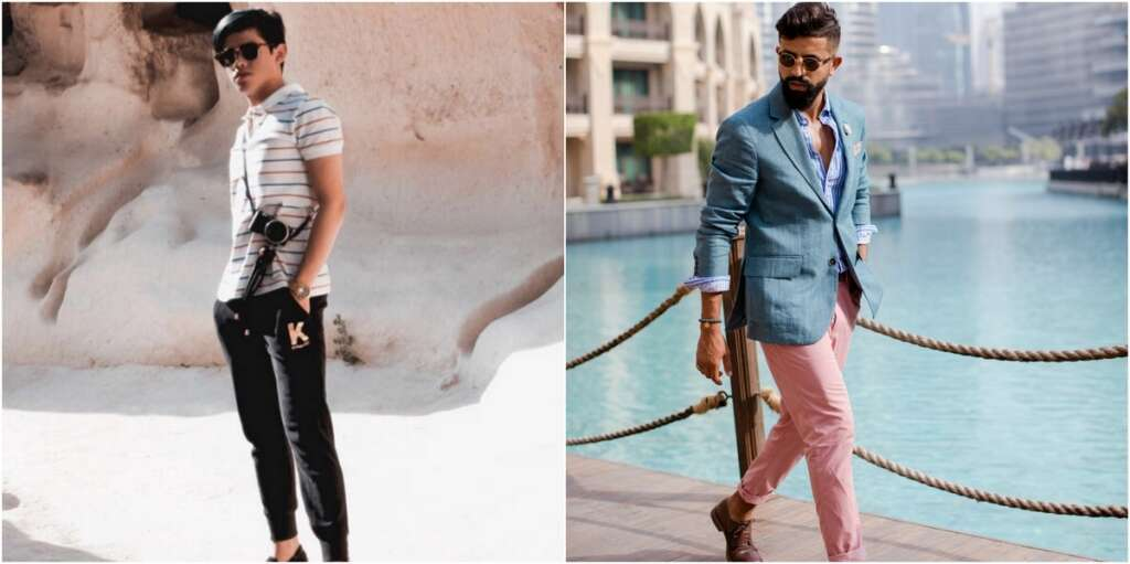 Is it hard to become a male blogger in the UAE?