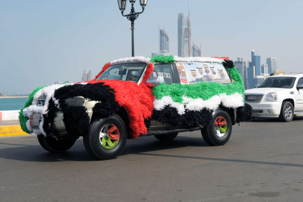 abide by laws when decorating cars for uae national day khaleej times