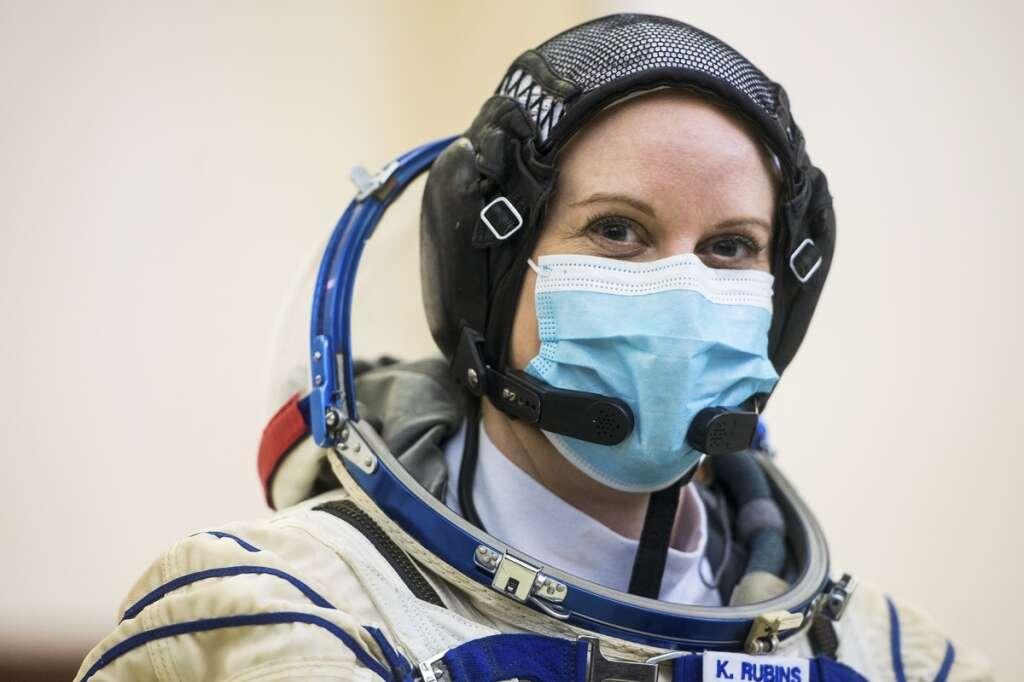 Kate Rubins, Nasa, space station