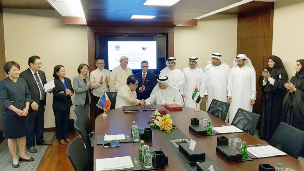 UAE-Philippines MoU to stop trafficking