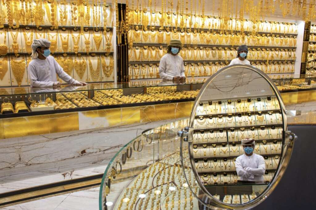 Gold jewellery loses shine in UAE, globally in Q1