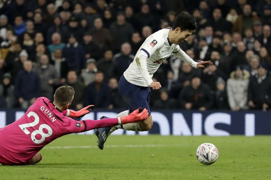 Mourinho admits best team lost as Son sends Spurs into FA Cup fifth round