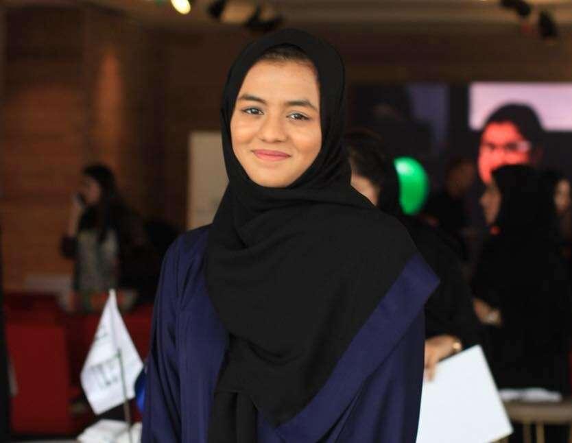 Dubai girl in Queens panel of inspiring people