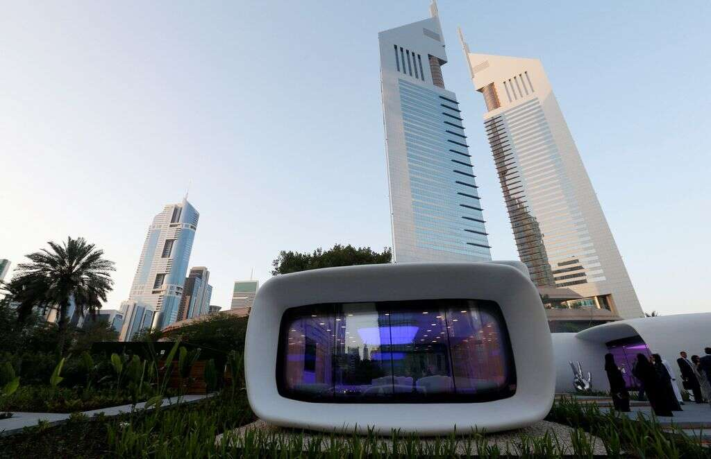 The future is here: UAE buildings to be 3D printed
