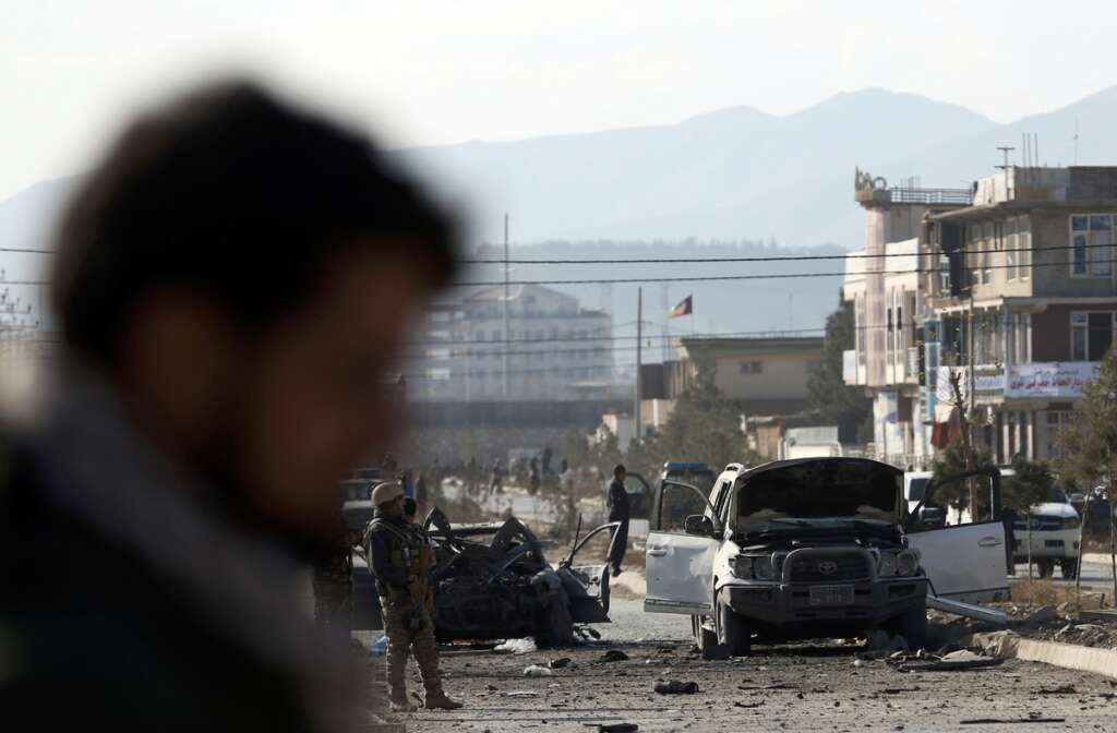 Afghan capital, Kabul
