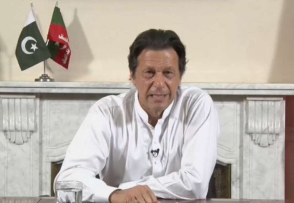Imran Khans message to Pakistan army against Indian aggression