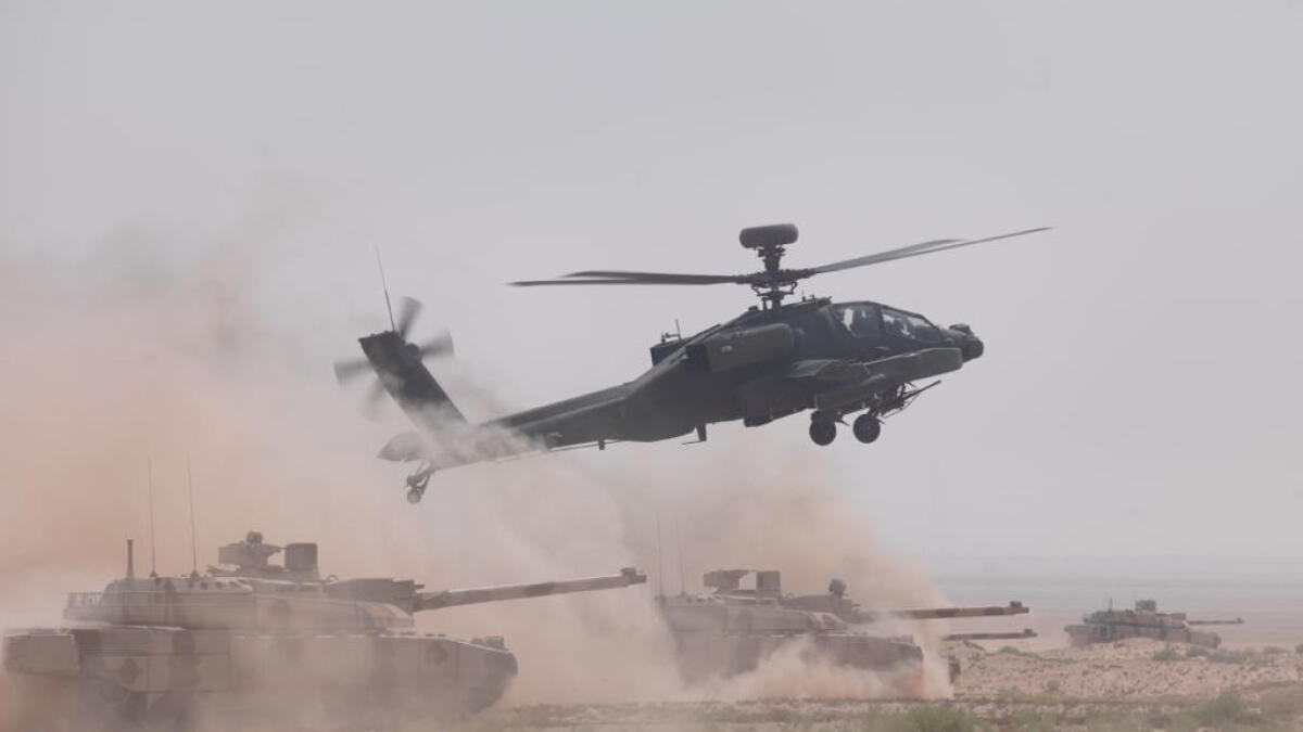 UAE fighter planes, military choppers are coming to Sharjah